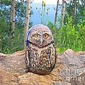 Journey Of Burrowing Owl by Abelone Petersen