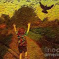 Joyful Bird Chase by Sharaijah Dunn