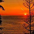 Juan De Fuca Sunset by Greg Norrell