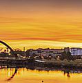 Jubia Bridge Panorama Neda Naron Galicia Spain by Pablo Avanzini