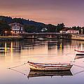 Jubia River Panorama Neda Naron Galicia Spain by Pablo Avanzini