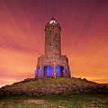 Jubilee Tower At Night by Simon Booth/science Photo Library