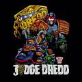 Judge Dredd - Bike And Badge by Brand A