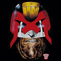 Judge Dredd - Dredd's Head by Brand A
