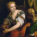 Judith With The Head Of Holofernes by Paolo Veronese
