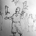 Juggler by H James Hoff