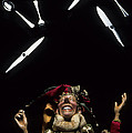 Jester Juggling by Bob Christopher