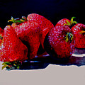 Juicy Strawberries by Sher Nasser
