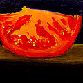 Juicy Tomato Modern Art by Patricia Awapara