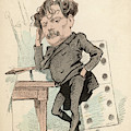 Jules Cheret  French Artist Noted by Mary Evans Picture Library