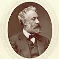 Jules Verne (1828-1905) by Granger