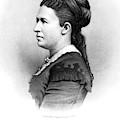 Julia Dent Grant (1826-1902) by Granger