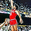Julius Erving by Florian Rodarte