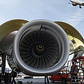 Jumbo Jet Engine And Aerospace by Christian Lagereek
