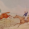 Jumping A Fence by Henry Thomas Alken