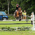 Jumping Eventer by Janice Byer