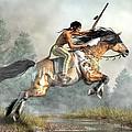 Jumping Horse by Daniel Eskridge