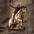 Jumping Mustang by Daniel Eskridge