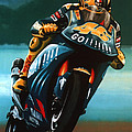 Jumping Valentino Rossi  by Paul Meijering