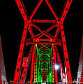 Junction Bridge - Red by David Downs