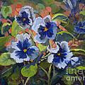 June In The Garden by Heather Coen