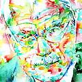 Jung - Watercolor Portrait.2 by Fabrizio Cassetta