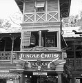 Jungle Cruise Adventureland Disneyland Bw by Thomas Woolworth