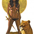Jungle Girl by Harold Shull