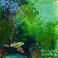 Jungle Rains I by Tracy L Teeter