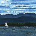 Juniper Island Lake Champlain Vt/ny by Judith Rice