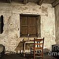 Junipero Serra Cell In Carmel Mission by RicardMN Photography