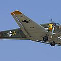 Junkers Ju-52 by Adam Romanowicz