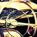 Junkyard Steering Wheel by Andrea Kelley