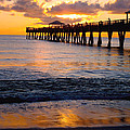 Juno Beach Pier by Carey Chen
