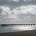 Juno Beach Pier by Catie Canetti