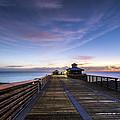Juno Beach Pier by Debra and Dave Vanderlaan