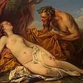 Jupiter And Antiope by Charles-Andre van Loo
