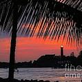 Jupiter Inlet Sunset by Sabrina L Ryan