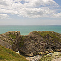 Jurassic Coast At Lulworth by Tony Murtagh