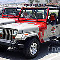 Jurassic Park Jeeps by Tommy Anderson
