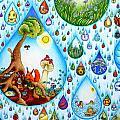 Just A Small Drop by Ida  Novotna
