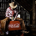Just Another Coca-cola Cowboy 3 by James Sage