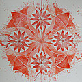 Just Red Mandala by Andrea Thompson