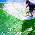 Just Surf - Santa Cruz California Surfing by Mark E Tisdale