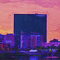 Jw Marriott Painted Digitally Indianapolis Indiana  9900 by David Haskett II