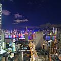 K11 In Tsim Sha Tsui In Hong Kong At Night by Lars Ruecker