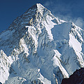 K2 At Dawn Pakistan by Colin Monteath