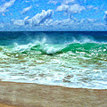 Kaanapali Shorebreak Maui by Dominic Piperata