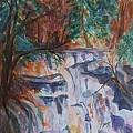 Kaaterskill Falls In The Catskills by Ellen Levinson