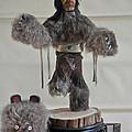 Kachina Doll Bear Head Removed by Jay Milo